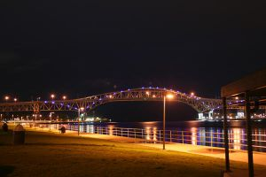 The Bridge at Night by andrewarmstead