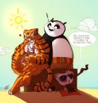 Tigress and Po Beach by Ritualist