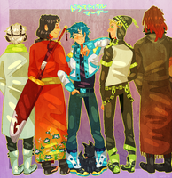 Dramatical Murder by naydeity