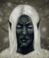 Drizzt Do'Urden by katklich