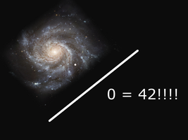 Universe divided by zero is 42 by King-Of-Saturn