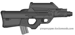 Vallkiir E-mag assault carbine by wbyrd