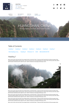 Website Redesign WIP 3 (Mockup): Article Page by wwsalmon