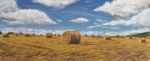Hay Bales by ackers
