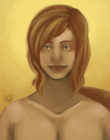 Portrait of Eiriodel by yorei