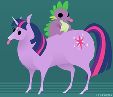Fatbutt Sparkle and Spikebutt by LeFreaks