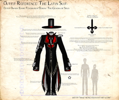 Outfit reference -- Latin Suit by half-rose