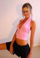 Jodi - Pink Top by hardhouse