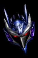 Soundwave's wonderful face!!!!!! by AVENDEW