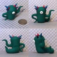Fremont the Timid Monster by TimidMonsters
