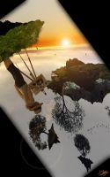 Painting Surreal Landscapes 2 by ivanraposo