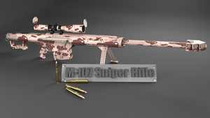M-107 Sniper Rifle by Sooner266