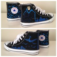 Nightwing Sneakers 3 by breathless-ness