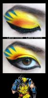 The Heroes- Wolverine Make Up by Lally-Hime