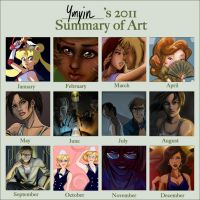 2011 Summary of Art Meme by Yunyin