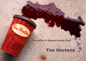 Tim Hortons is for Vampires? by KeswickPinhead