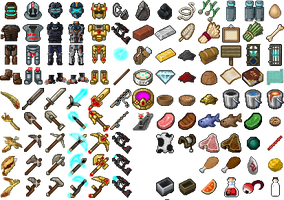 Texture Pack Items So Far 2 by SufferingSquids