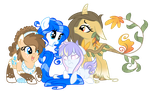 The Gang's All Here! by Rainjay-xx