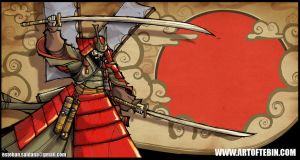 Samurai by Tebin-Art
