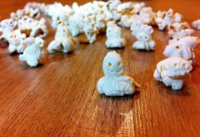 The night of the death popcorns by Bella-Gina