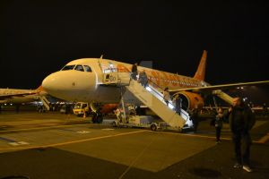 Airbus A319-111 G-EZDO by DingRawD