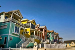 Crayon Houses HDR by Vernon-studios