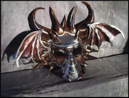 Prism Leather Dragon Mask 2 by Jedi-With-Wings