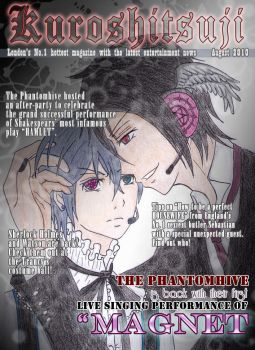 The Black Butler Magazine by Addicted-2-Apples