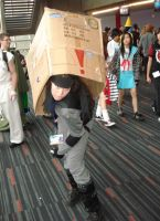 Solid Snake cosplay by Shiroyuki9