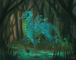 Concept-SeaHorse by AngryPotato