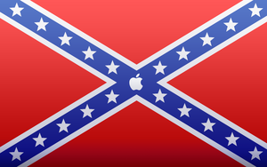 SouthernFlag Apple Wallpaper by DaanAndCasper