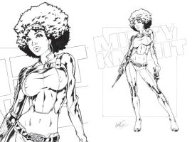 Misty Knight by Elias-Chatzoudis