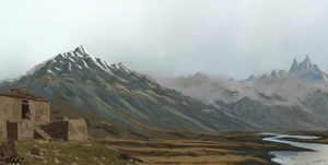 Landscape study by TheAngryAron