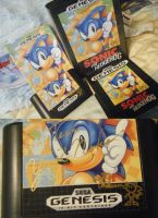My Holy Grail - Signed Sonic 1 by SEGAMew