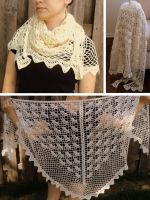 Gossamer Evening Shawl by Brookette