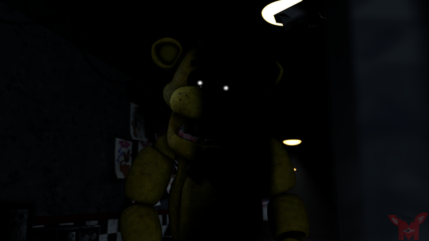 FNaF SFM: Who's in the shadows? by Mikol1987