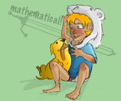 Mathematical bros by marora