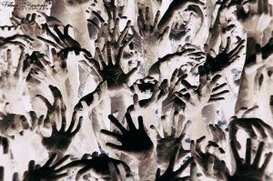 hands up by LoMiTa