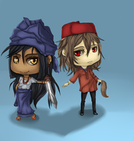 igbo chibi color by deilawliet