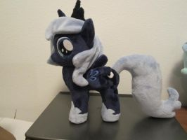 MLP Plushie Filly Luna (commission) by Little-Broy-Peep