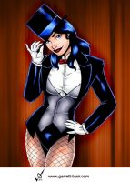 Zatanna by Garrett Blair by Mythical-Mommy