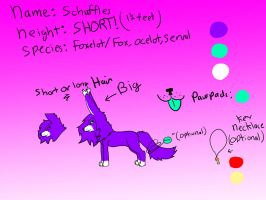 Schuffles Reference Sheet by Schuffles