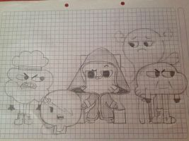 SAW. The amazing World of Gumball by Maxevil3006