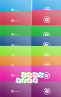 windows 7 metro wall+usr icon by the-broken-0ne
