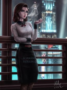 Elizabeth - BioShock Infinite: Burial at Sea by Sciamano240