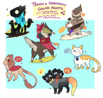 COLLAB ADOPTS AUCTION (CLOSED) by Ponacho