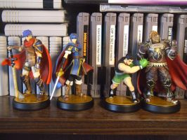 Marth and Mac join the collection! by emerald18