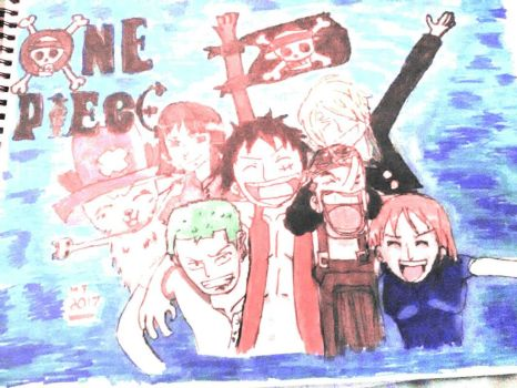The one piece crew by GoronGamer04