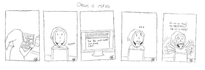 Orion, o mago 1 by Klefus