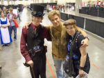 Vic Mignogna, sister, and I- Phoenix comicon 2013 by CIODemolitions